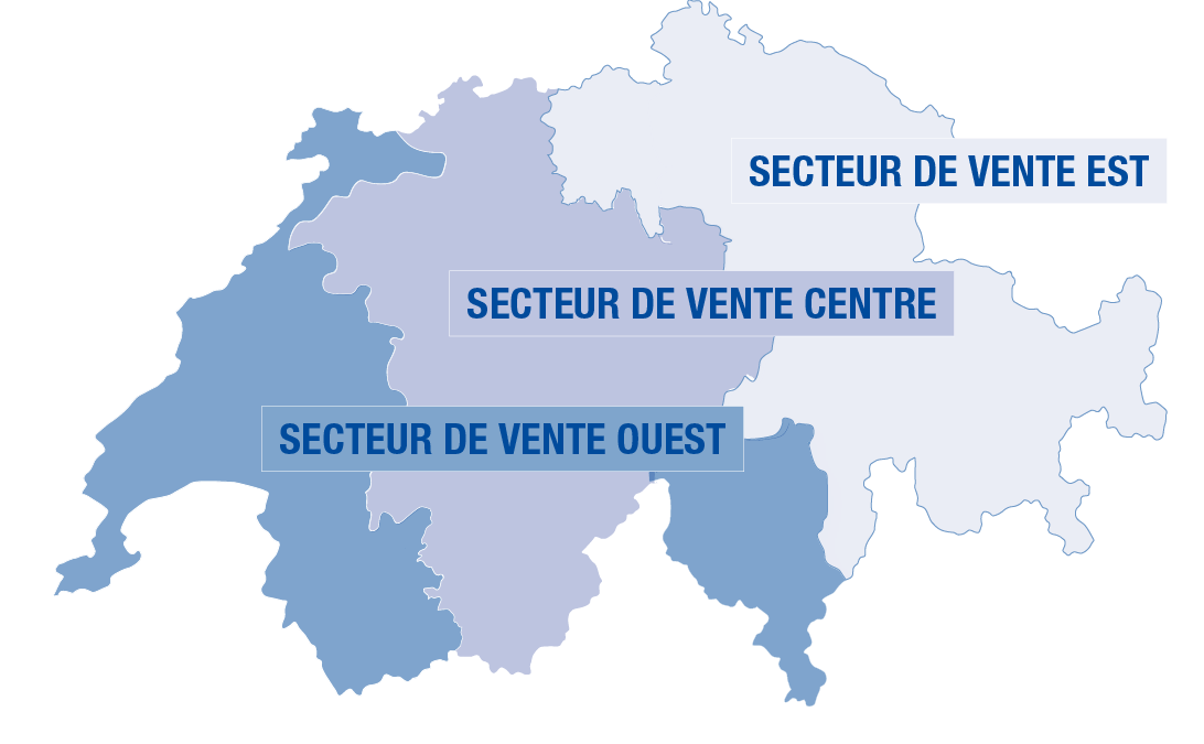 Carte des personnes de contact