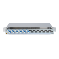 906318 - CCM SpiderLINE Patchpanel 1HE Alu