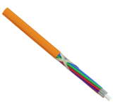 930349 - CCM SpeedBLOW Cable PA 5.7mm 2x12 9/125 G652D OR