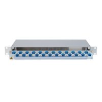 931665 - CCM SpiderLINE Patchpanel 1HE Alu PRO