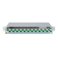 945711 - CCM SpiderLINE Patchpanel 1HE Alu PRO