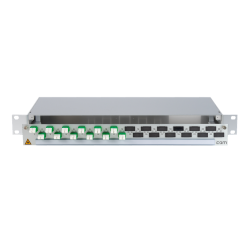 906348 - CCM SpiderLINE Patchpanel 1HE Alu
