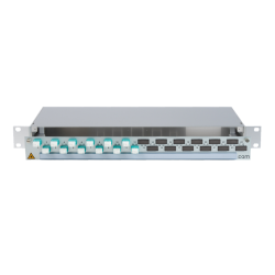 906376 - CCM SpiderLINE Patchpanel 1HE Alu