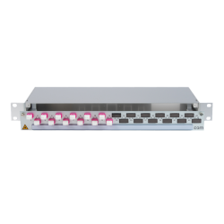 906404 - CCM SpiderLINE Patchpanel 1HE Alu