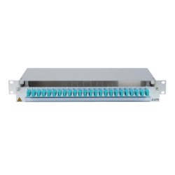 906480 - CCM SpiderLINE Patchpanel 1HE Alu