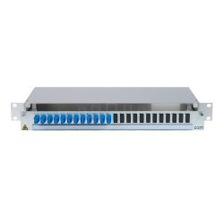 906432 - CCM SpiderLINE Patchpanel 1HE Alu