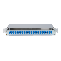 906436 - CCM SpiderLINE Patchpanel 1HE Alu
