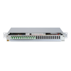 906253 - CCM Patchpanel 1HE Alu