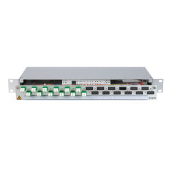 906338 - CCM Patchpanel 1HE Alu