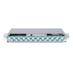 906368 - CCM Patchpanel 1HE Alu