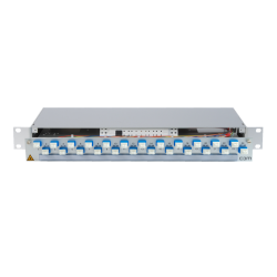 906312 - CCM Patchpanel 1HE Alu