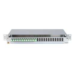 906289 - CCM SpiderLINE Patchpanel 1HE Alu