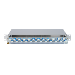 906322 - CCM SpiderLINE Patchpanel 1HE Alu