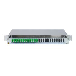906454 - CCM SpiderLINE Patchpanel 1HE Alu