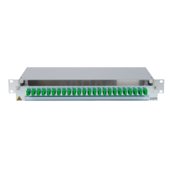 906458 - CCM SpiderLINE Patchpanel 1HE Alu