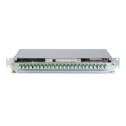 906261 - CCM Patchpanel 1HE Alu