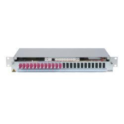 906492 - CCM Patchpanel 1HE Alu
