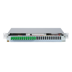 906448 - CCM Patchpanel 1HE Alu