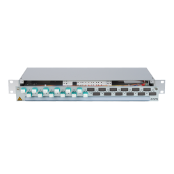 906366 - CCM Patchpanel 1HE Alu
