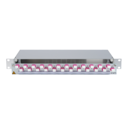 906408 - CCM SpiderLINE Patchpanel 1HE Alu