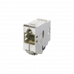 906794 - Copper-T RJ45 Kupplung 180° Cat.6