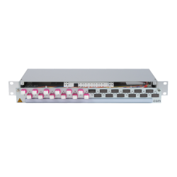 906394 - CCM Patchpanel 1HE Alu