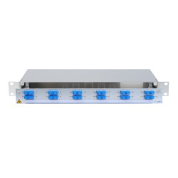 921051 - CCM SpiderLINE Patchpanel 1HE Alu PRO