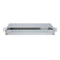 938011 - CCM SpiderLINE Patchpanel 1HE Alu PRO