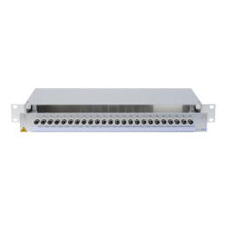 945075 - CCM SpiderLINE Patchpanel 1HE Alu PRO