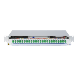 950769 - CCM Patchpanel 1HE Alu PRO